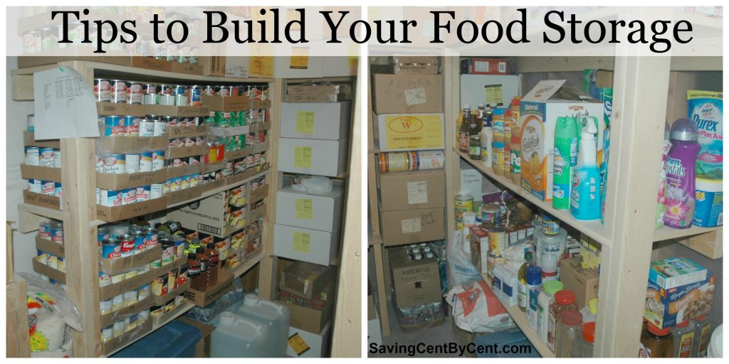 Tips to Build Your Food Storage Final