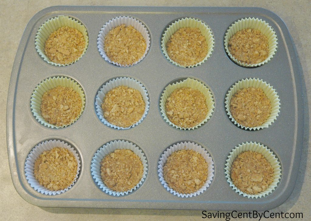 Caramel Apple Mini Cheesecakes 1