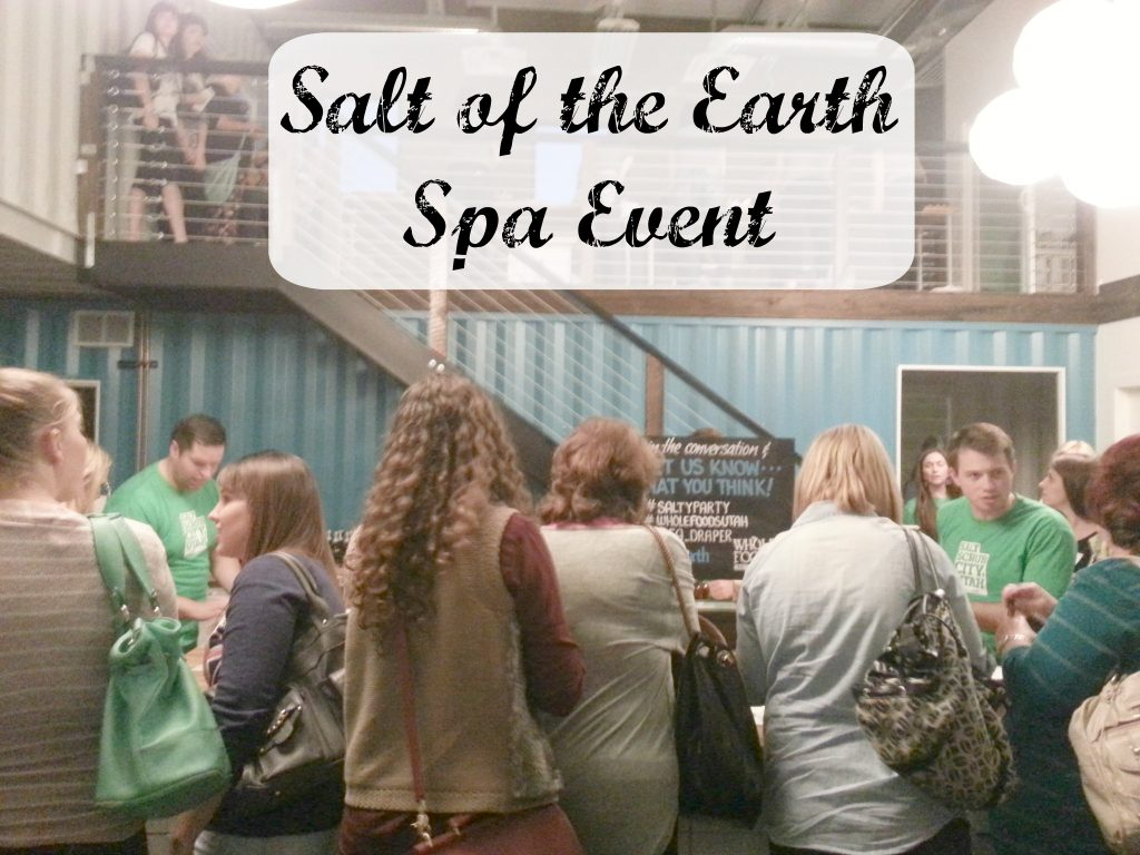Salt of the Earth Spa Event
