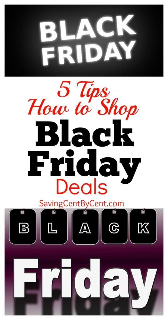 Tips How to Shop Black Friday Deals
