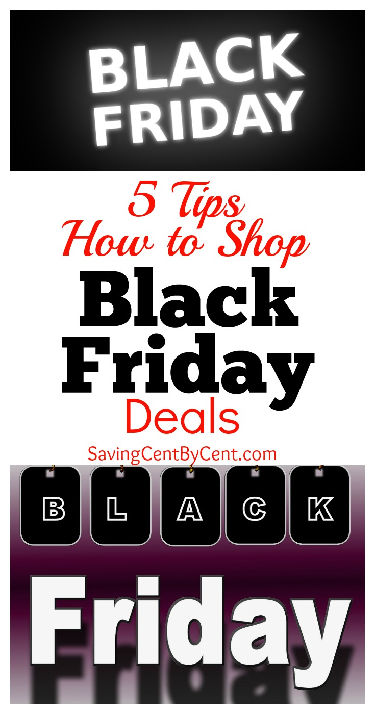 5 Tips How to Shop Black Friday Deals