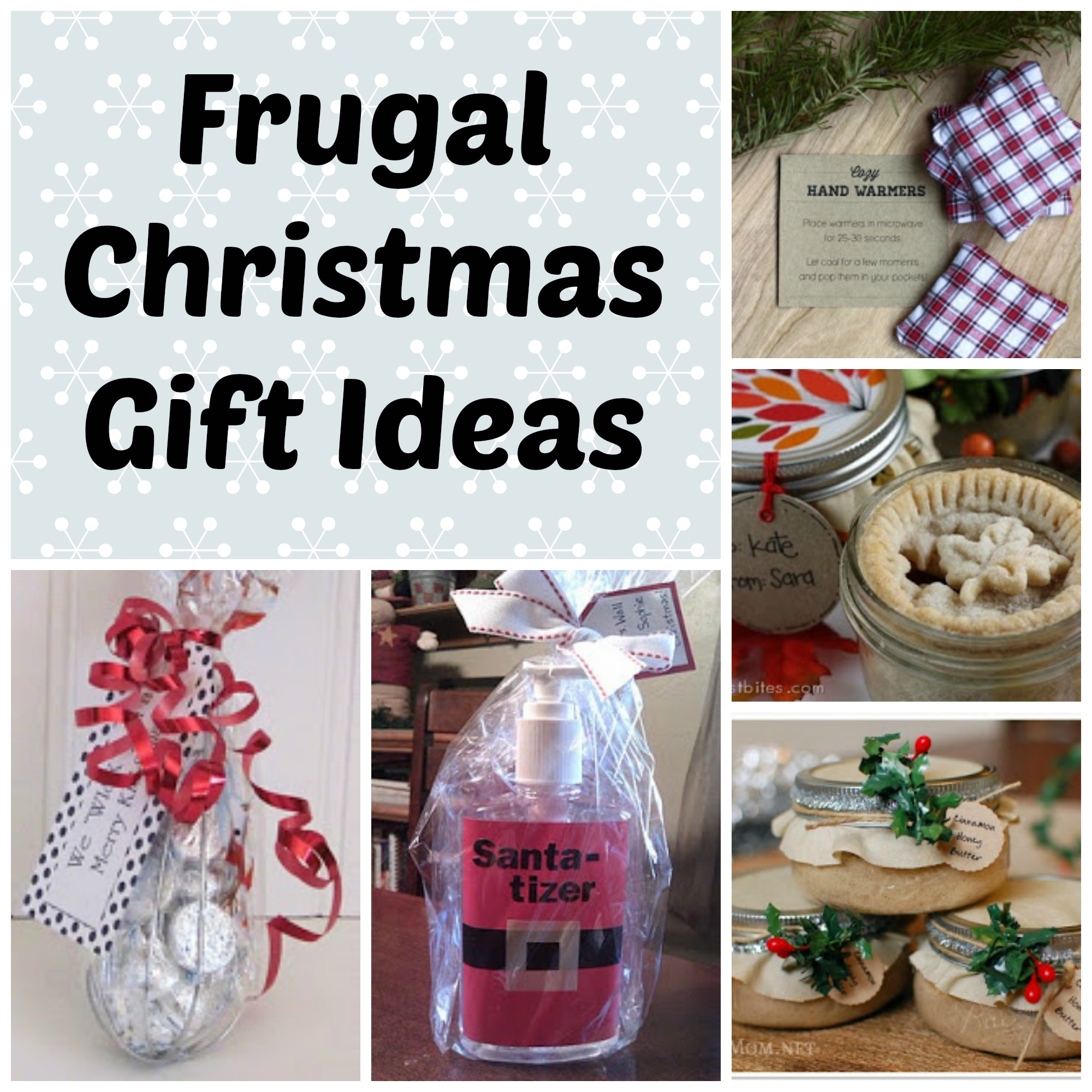 Frugal Christmas Gifts for Family, Friends, or Neighbors - Saving ...