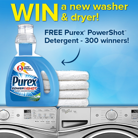 Purex Power Shot Sweepstakes