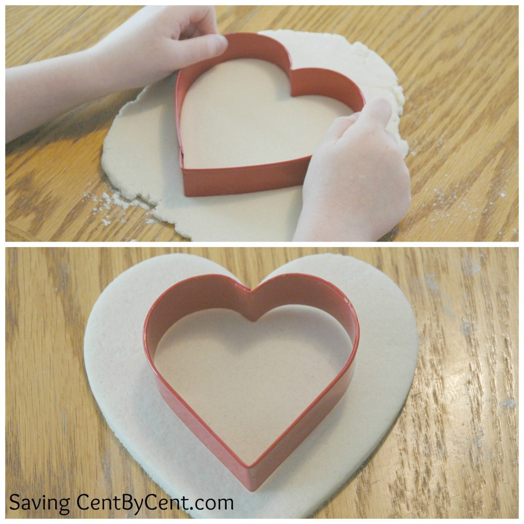 Clay Activity - Heart with Blog