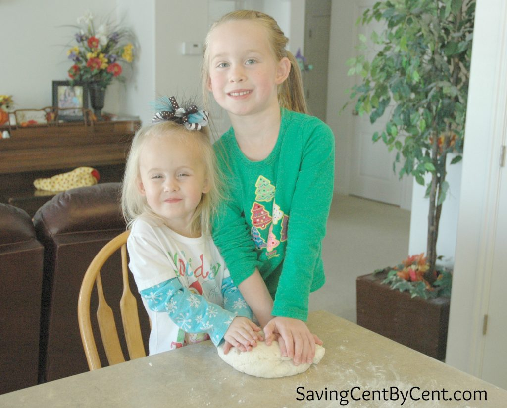 Clay Activity - Kneading Dough Together