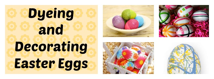 Easter Eggs Dyeing and Decorating Final