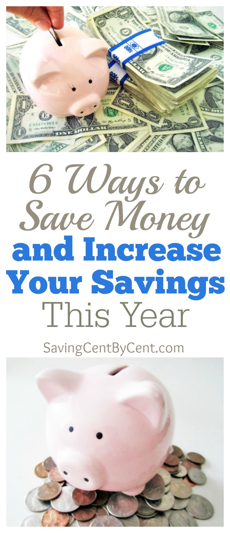 6 ways to save money and increase savings this year