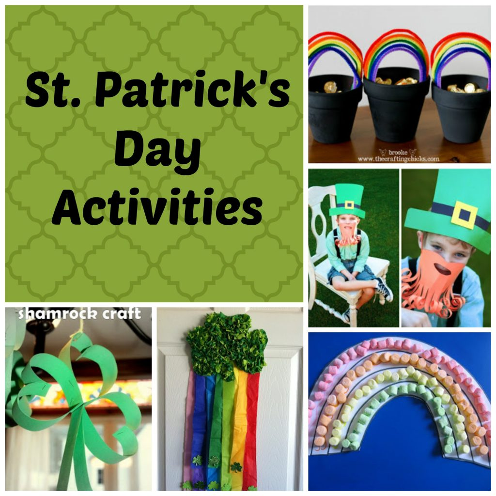 St. Patrick's Day Activities Final