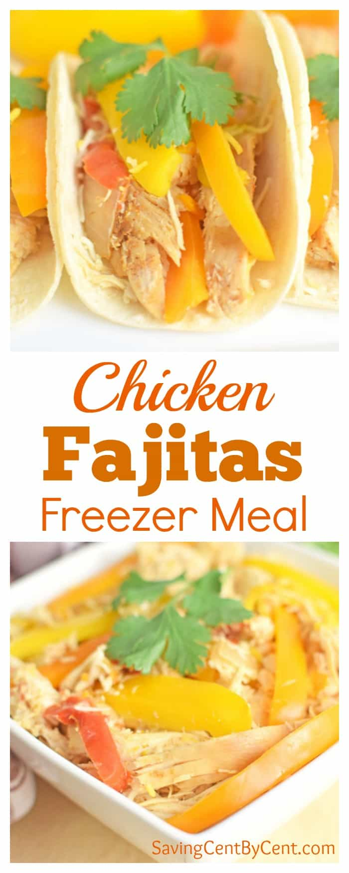 Chicken Fajitas Freezer Meal