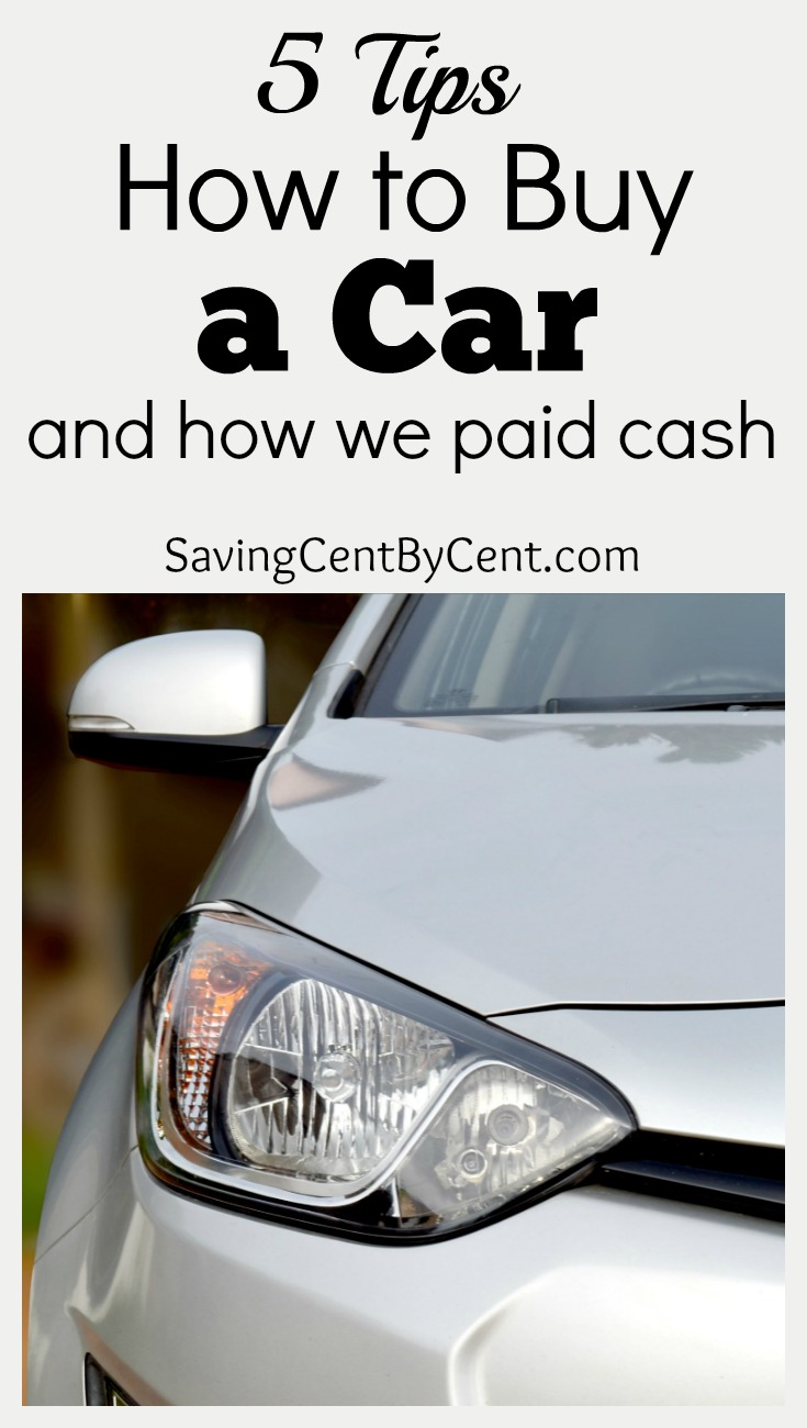 5 tips how to buy a car and how we paid cash