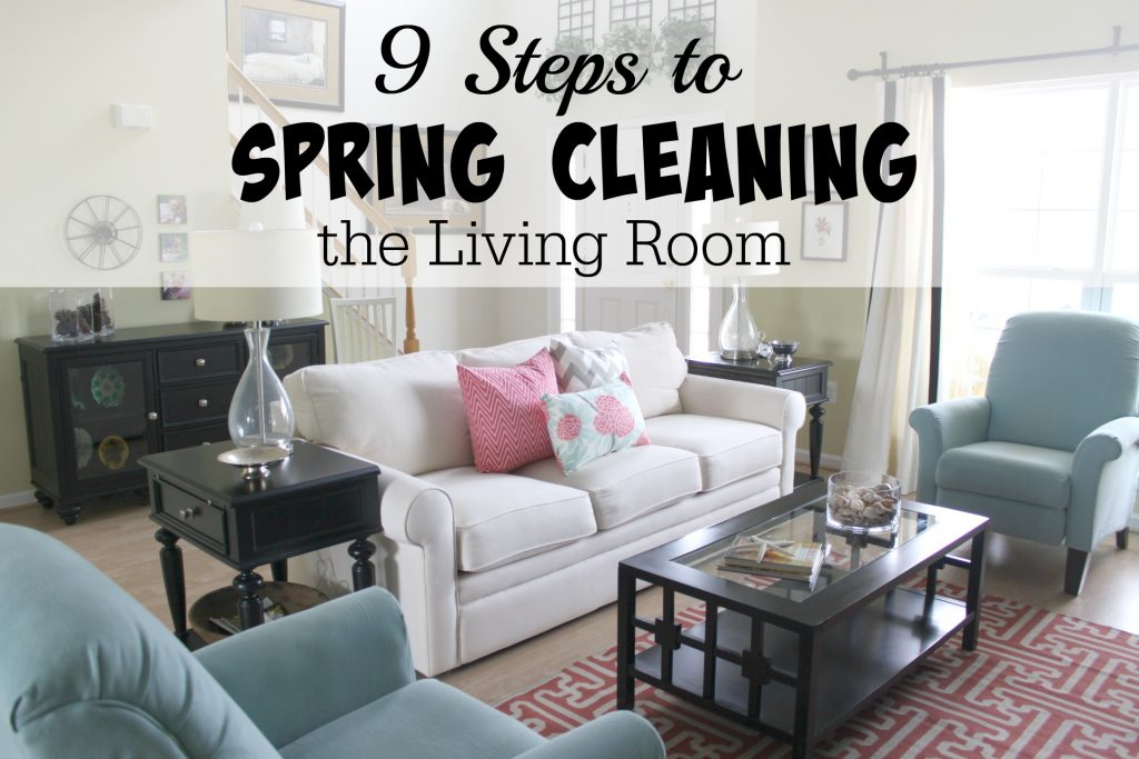 Spring Cleaning Living Room Final