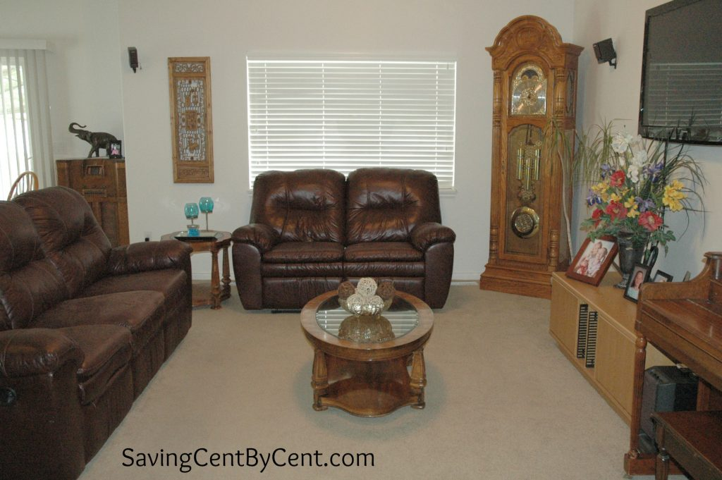 Living Room with Decor