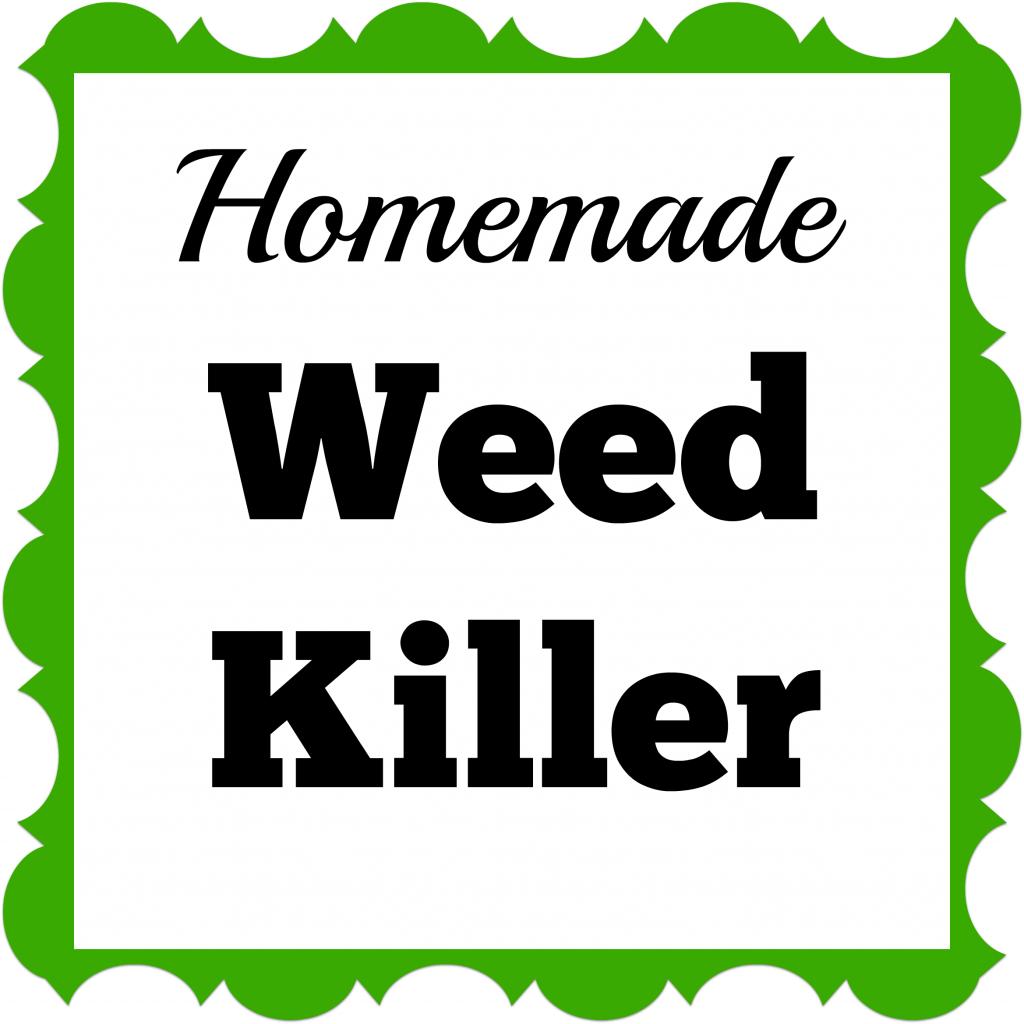 Weed Killer Homemade Sign