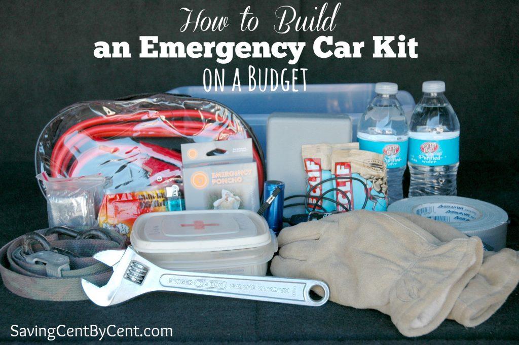 Emergency Car Kit on a Budget