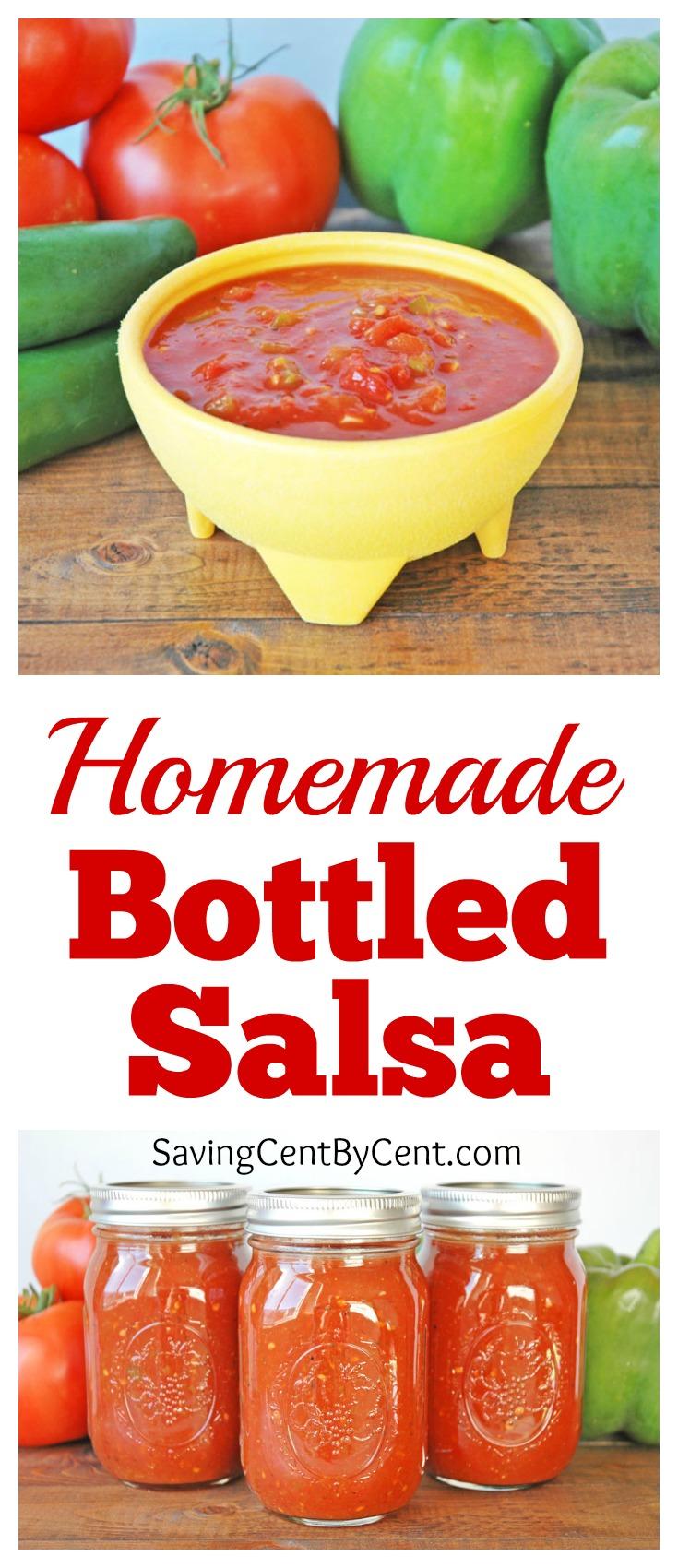 Homemade Bottled Salsa