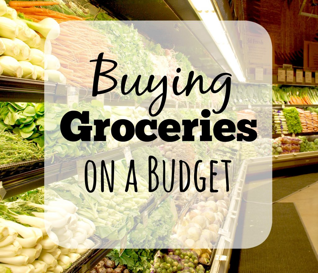 Buying Groceries on a Budget Final