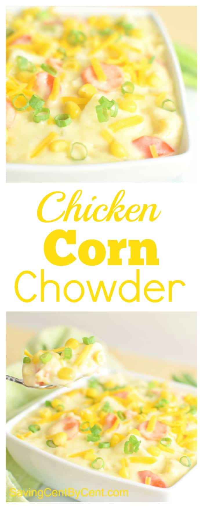 Chicken Corn Chowder Soup