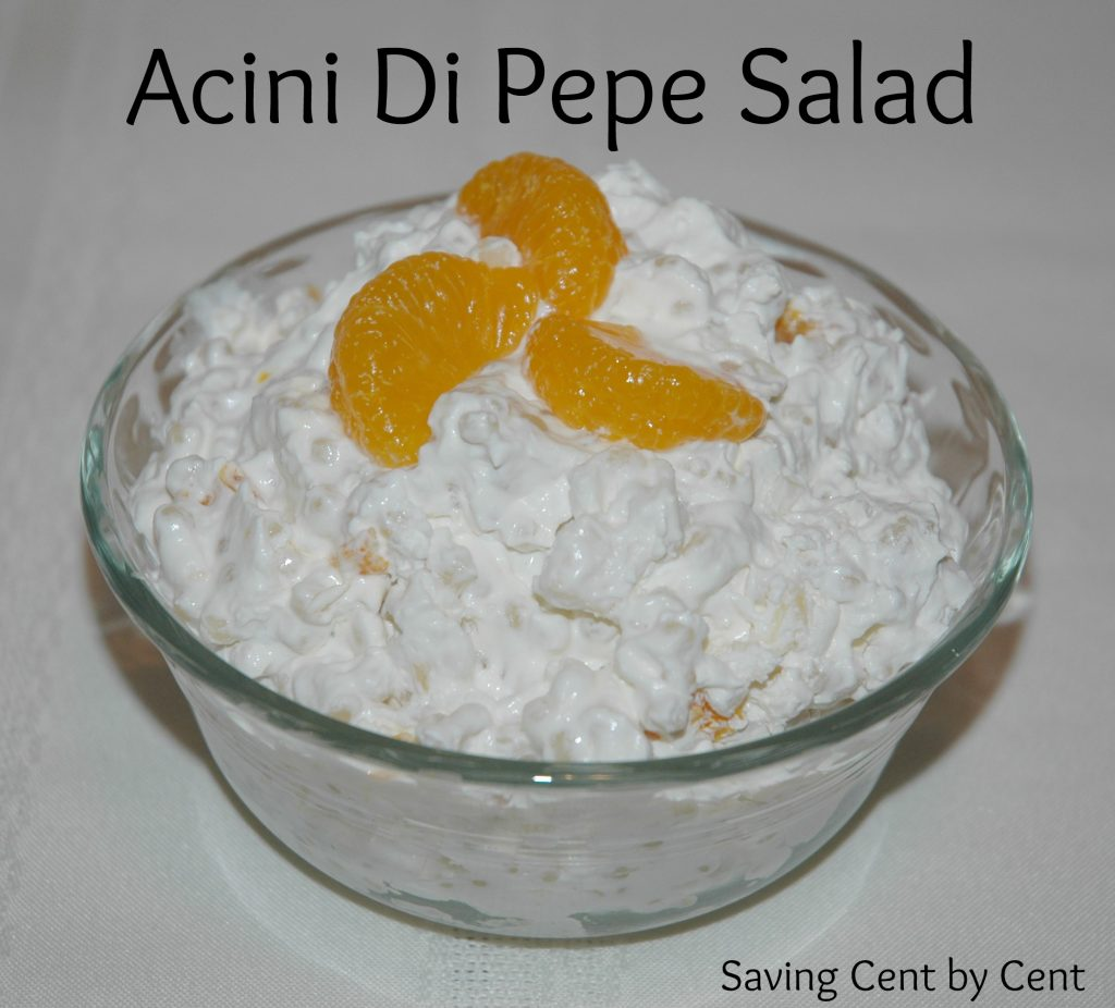 Acini Di Pepe Salad