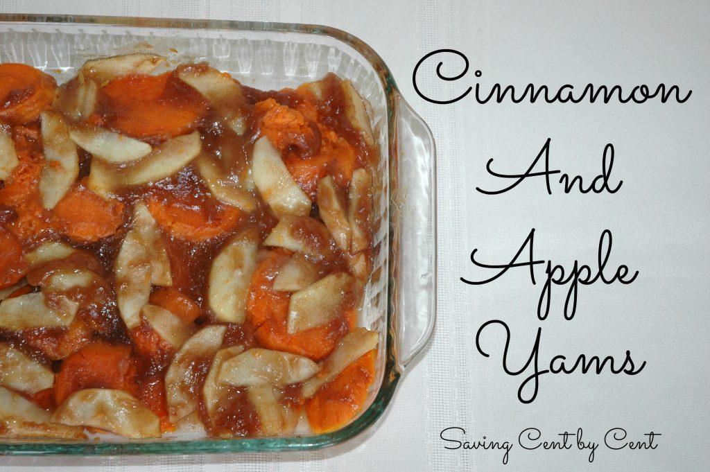 Cinnamon and Apple Yams