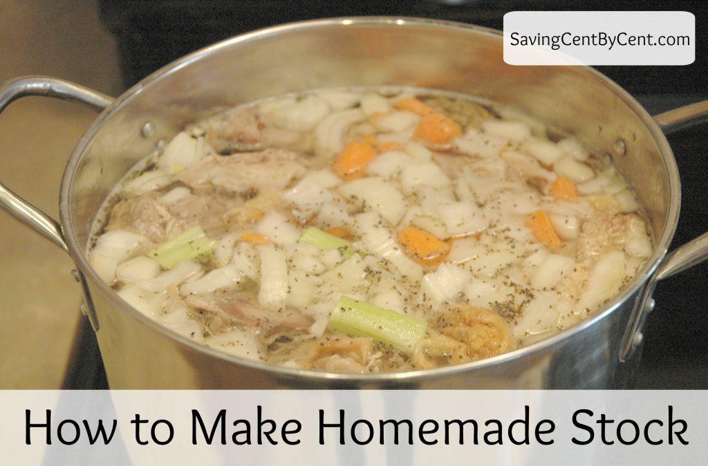 How to Make Homemade Stock Final