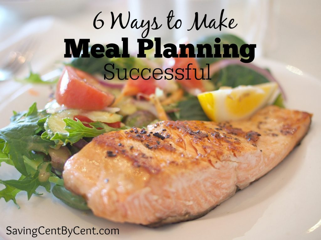 Meal Planning Successful