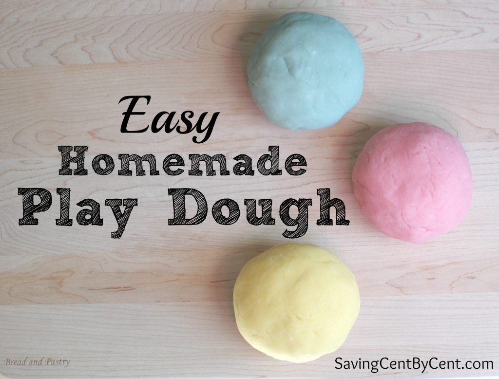 Play Dough Homemade Version 2