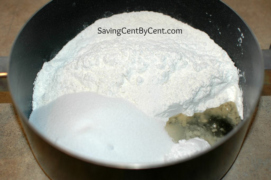 Play Dough Photo 2 - Dry Ingredients in Pot