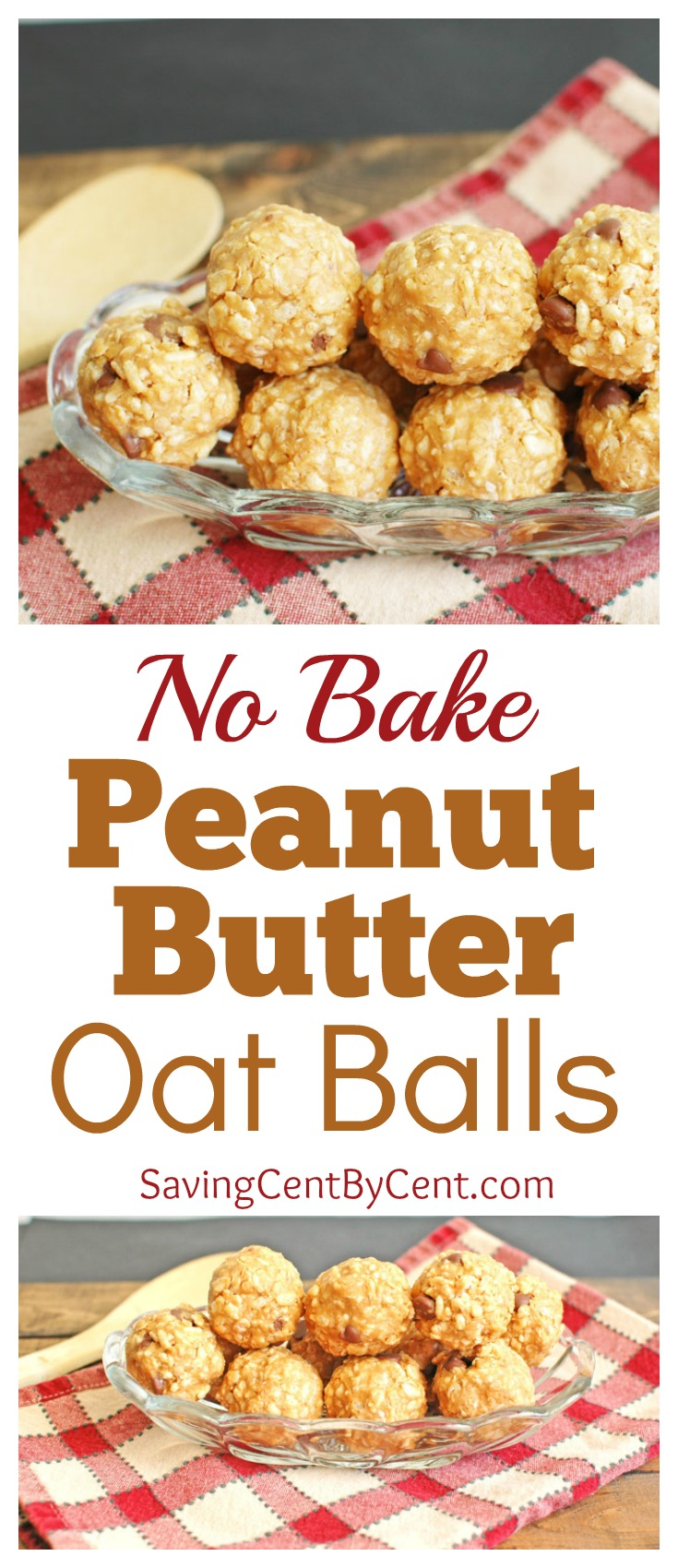 No Bake Peanut Butter Oat Balls