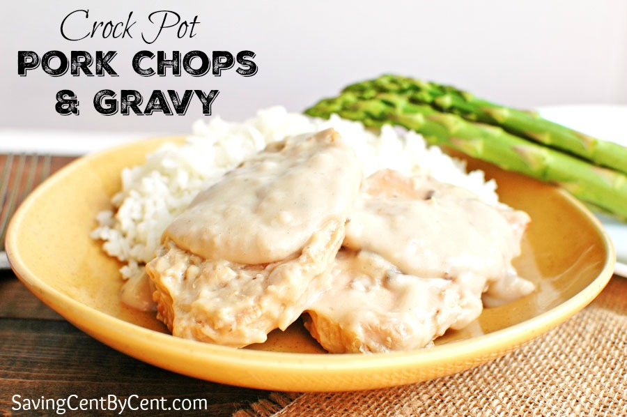 Pork Chops & Gravy Crock Pot Final