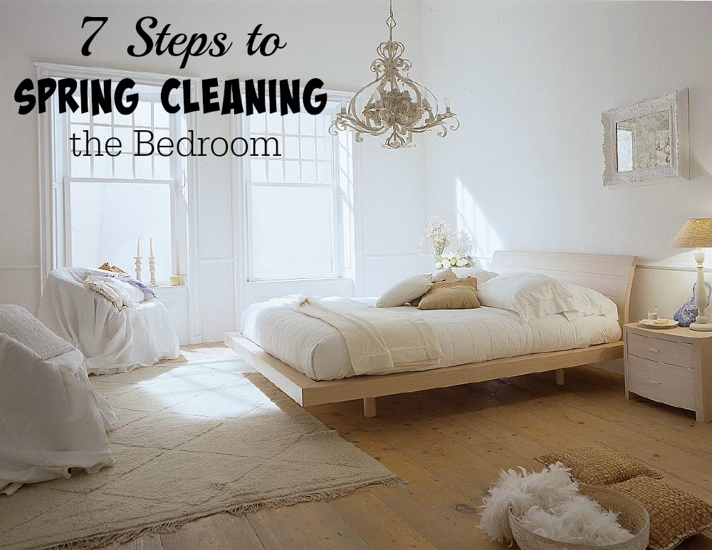 Spring Cleaning Bedroom