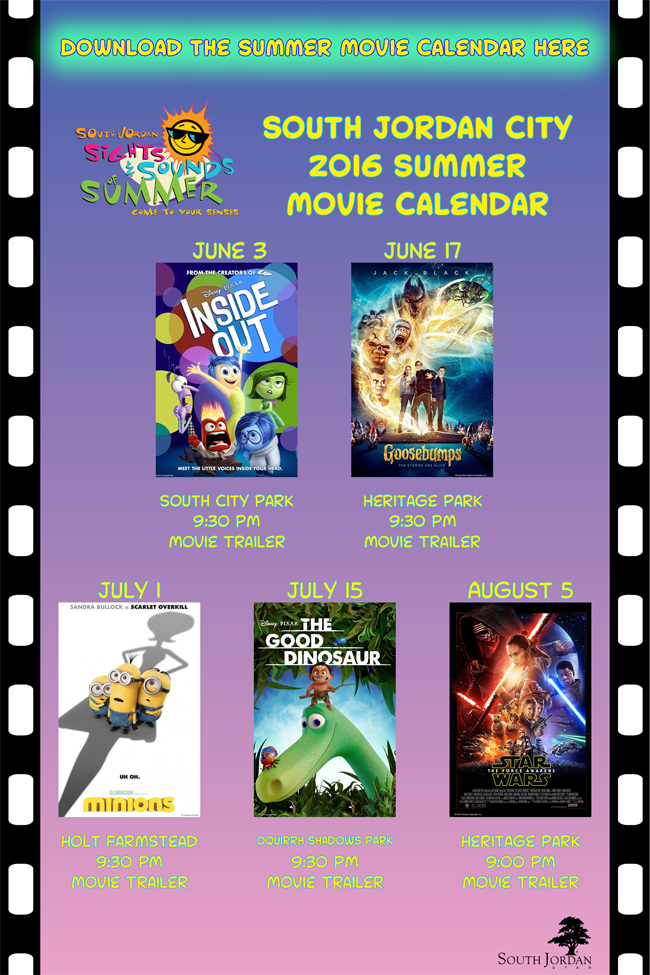 Movies in the Park - South Jordan