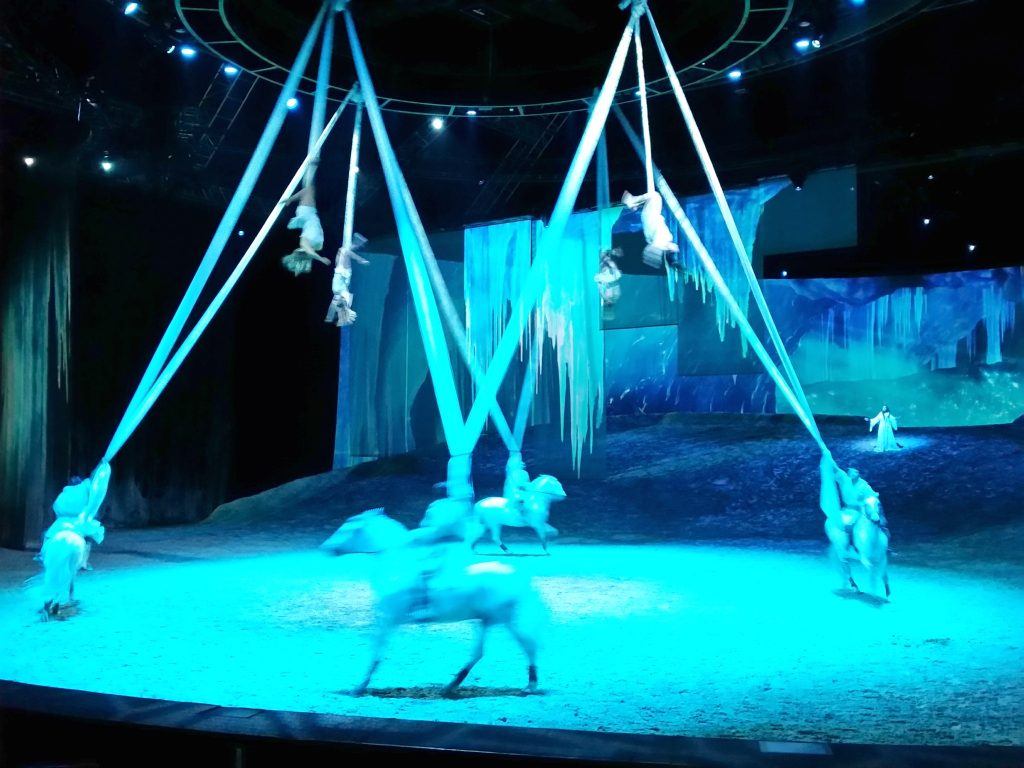 Odysseo - Aerialists with Horses