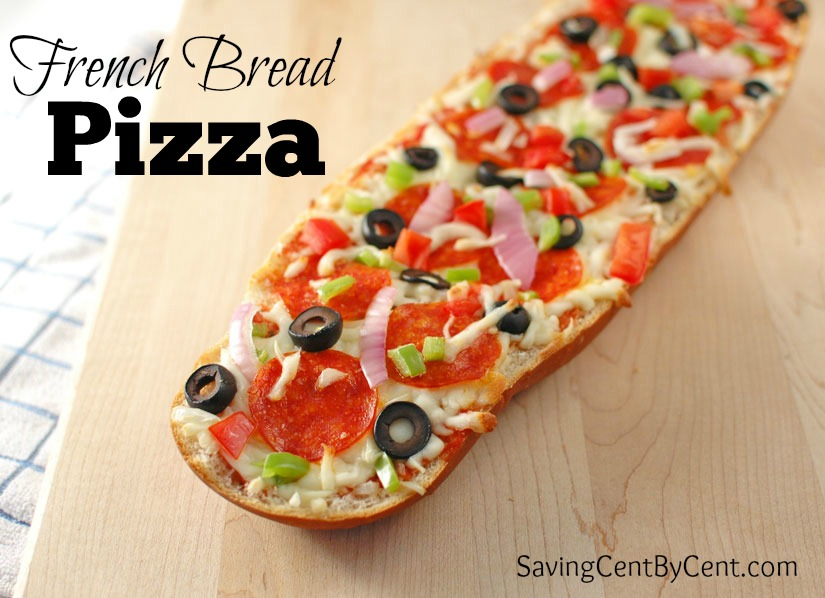 French Bread Pizza Final