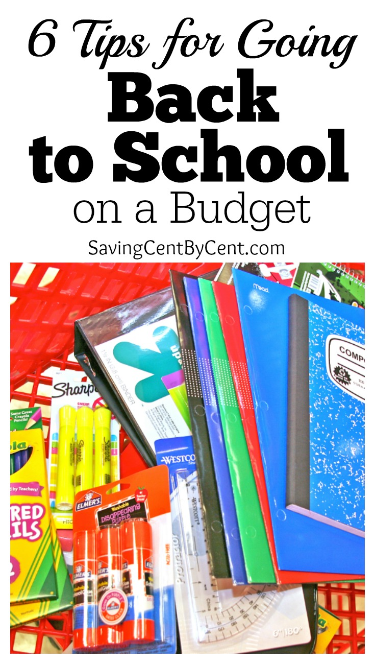 6 Tips for Going Back to School on a Budget