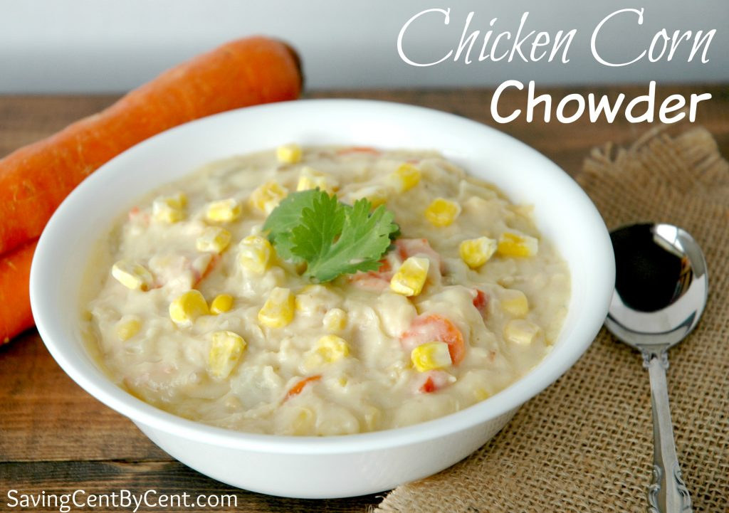Chicken Corn Cowder Soup