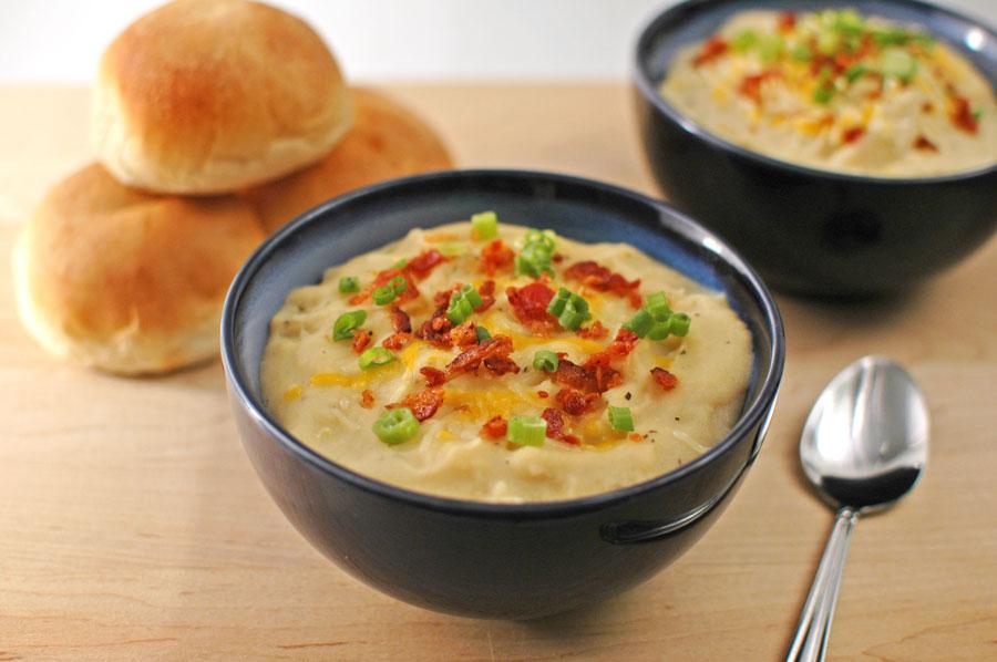Creamy Potato Soup Herbed Potato Soup