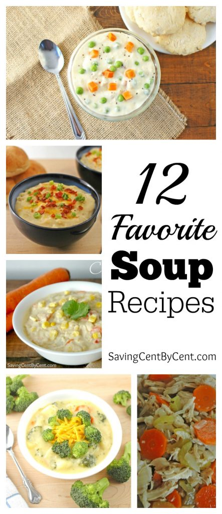 12 Favorite Soup Recipes