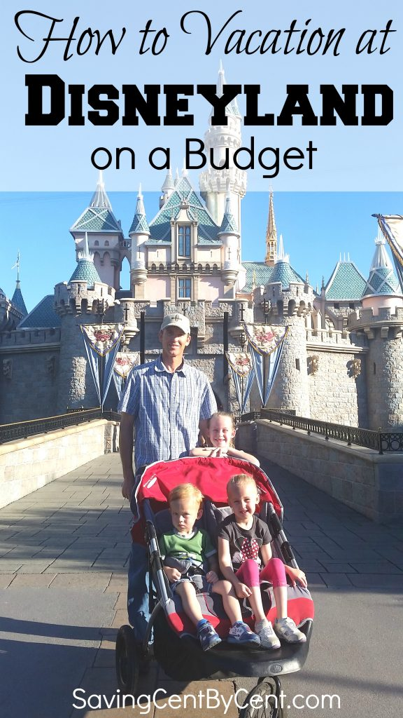 how to vacation at disneyland on a budget