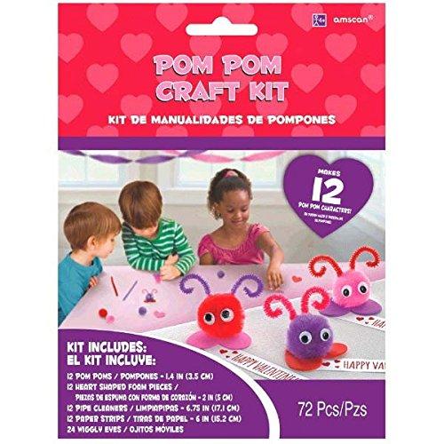 Amazon - Valentine's Pom Pom Craft