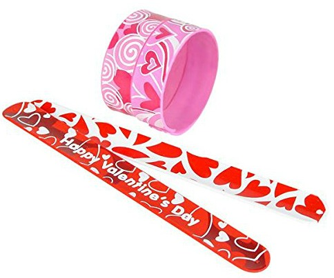 Amazon - Valentine's Slap Bracelets 2