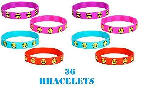 Amazon - emoji bracelets