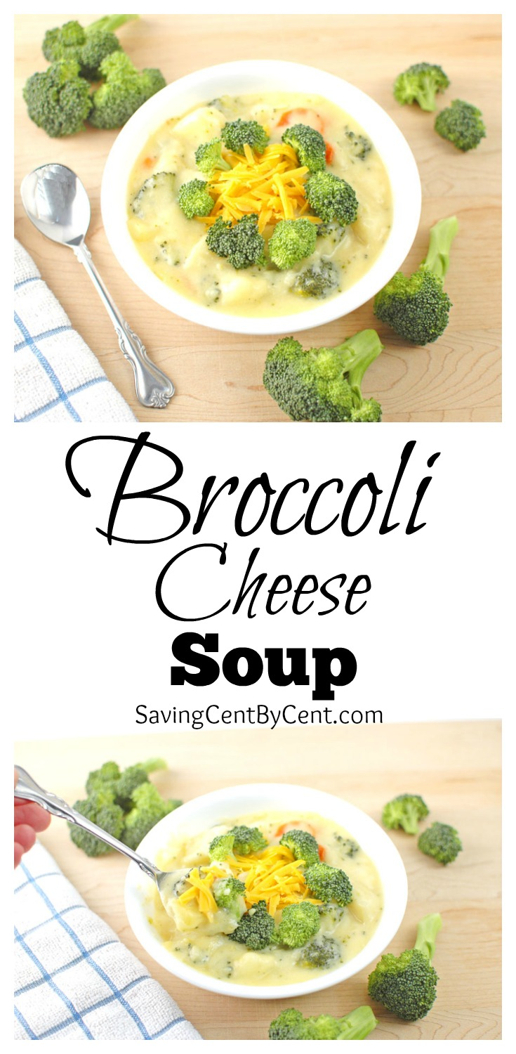 Broccoli Cheese Soup Collage Final