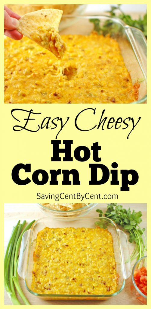 Easy Cheesy Hot Corn Dip