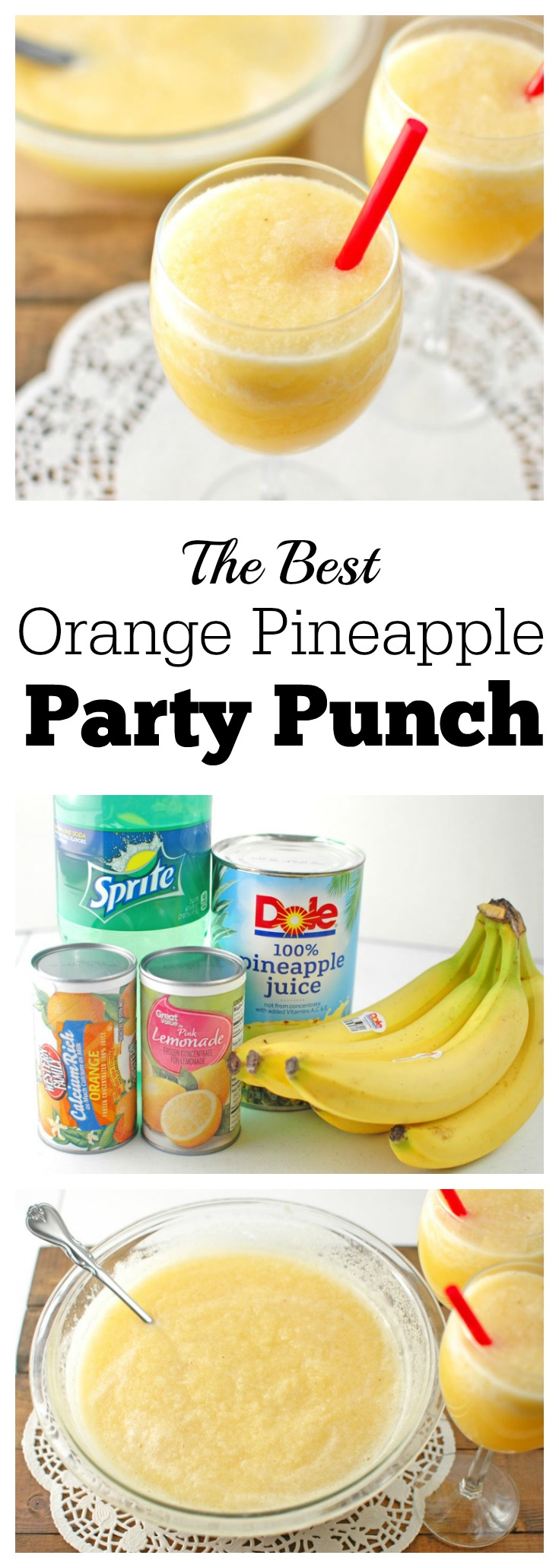 Orange Pineapple Party Punch