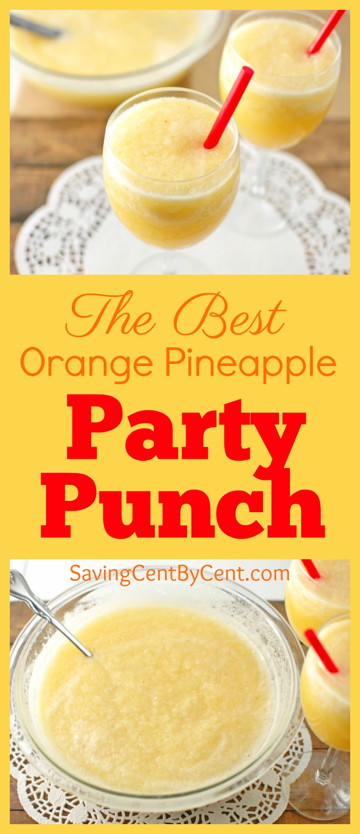 The Best Orange Pineapple Party Punch