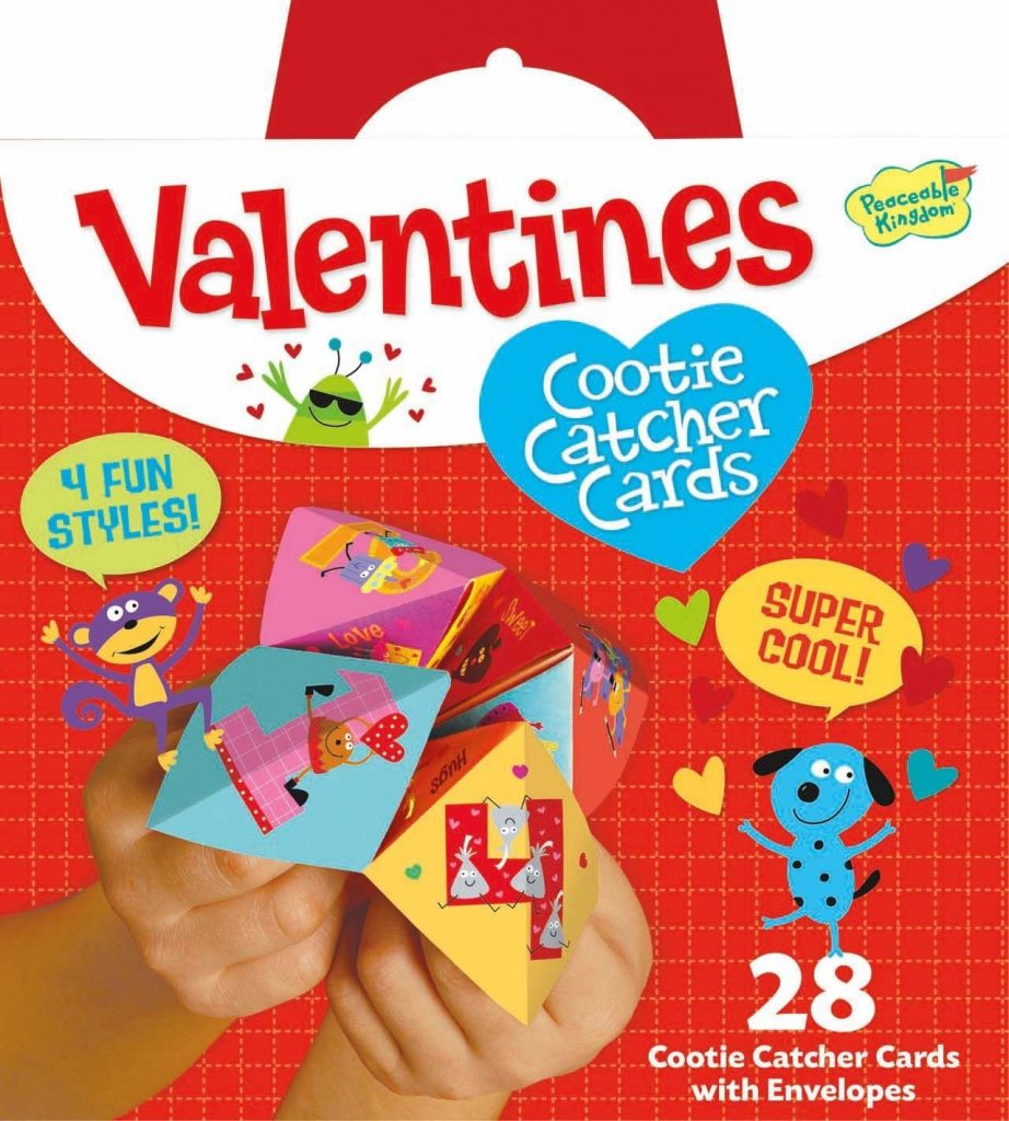 amazon - valentine's cookie catcher cards