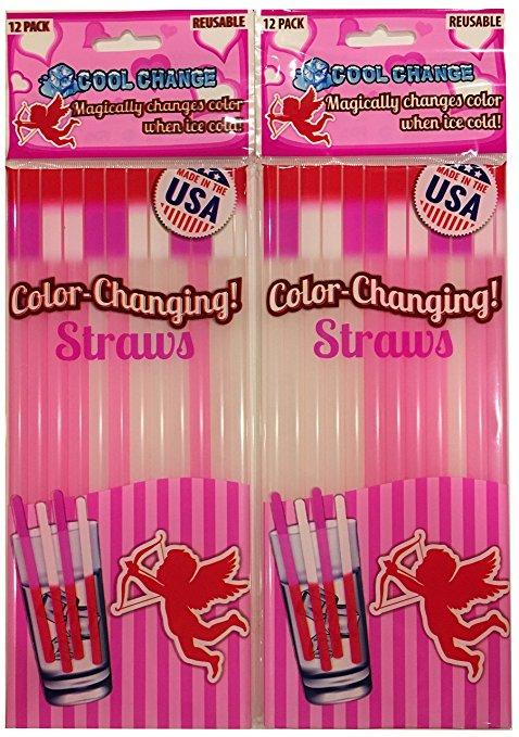amazon - valentine's straws
