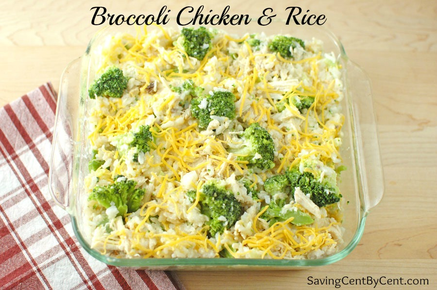 Broccoli Chicken and Rice