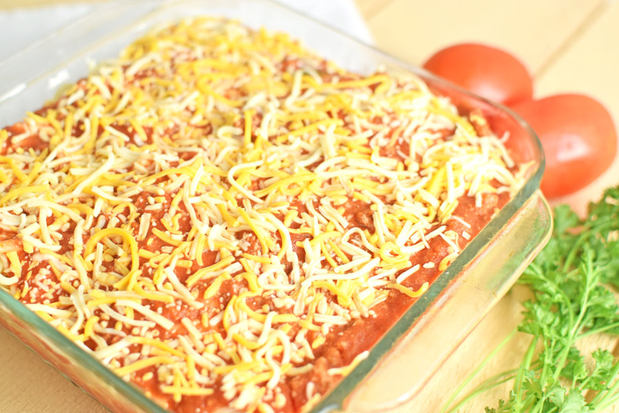 Spaghetti Casserole An Easy Freezer Meal