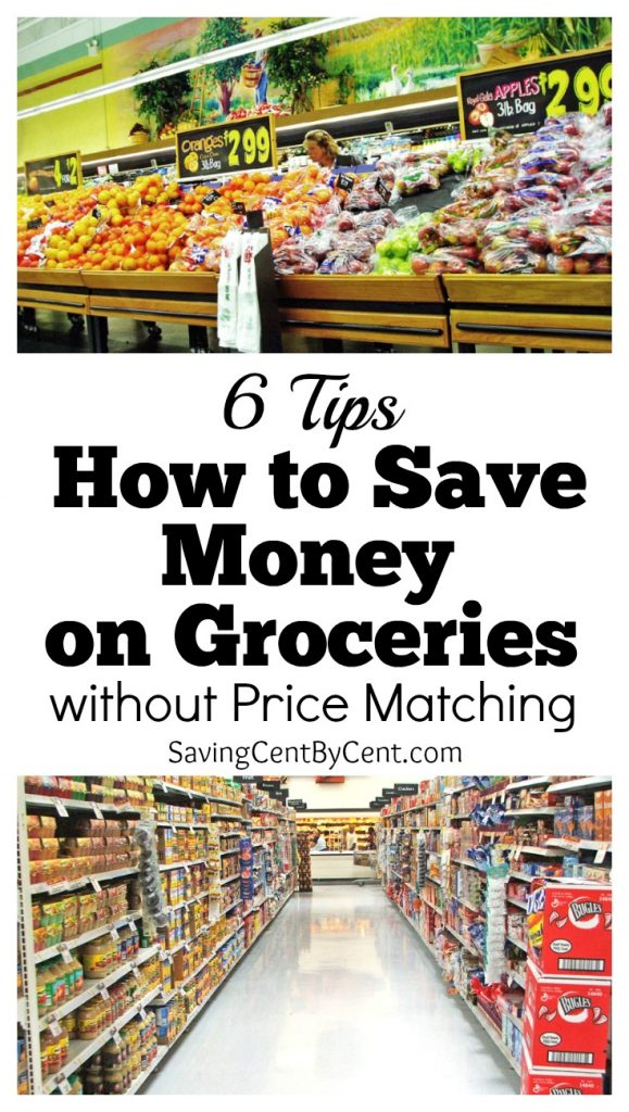 6 Tips How to Save Money on Groceries without Price Matching